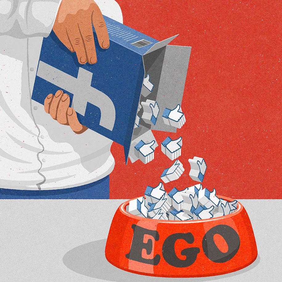Ilustracije koje će Vam probuditi svest o postojećim društvenim problemima