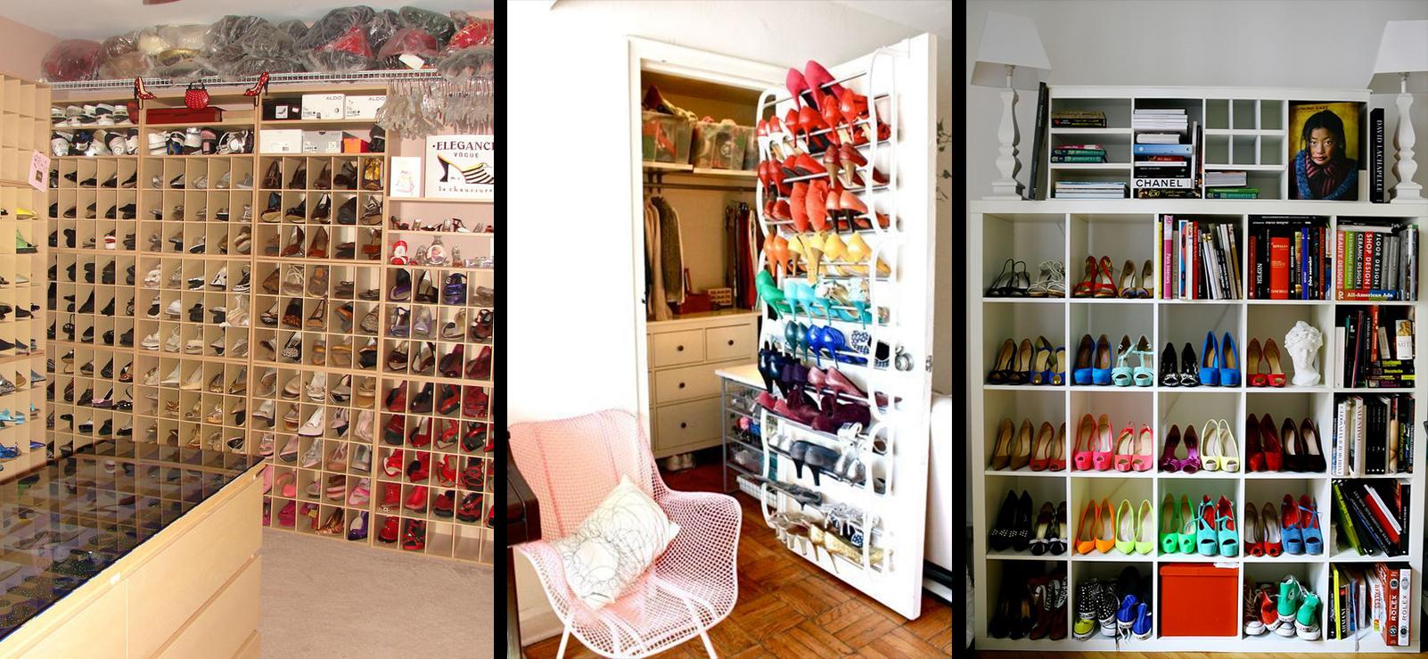 SAMO ZA ŽENE: Kako organizovati obuću – kreativni ormari za cipele