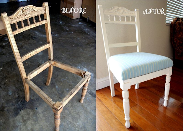 Restauracija stare stolice – slike pre i posle