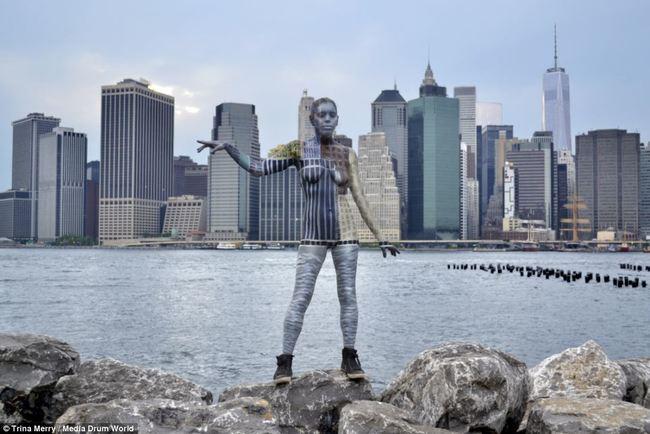 Nesvakidašnja umetnost – kamuflaža Trine Meri u Njujorku